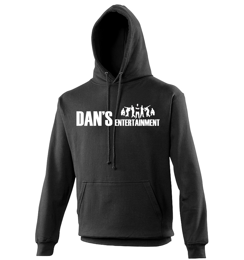 Dan 39 s entertainment hoodie t for Dan s